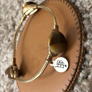 BourbonandBowties GoldBracelet w/ Tortoise Jewels